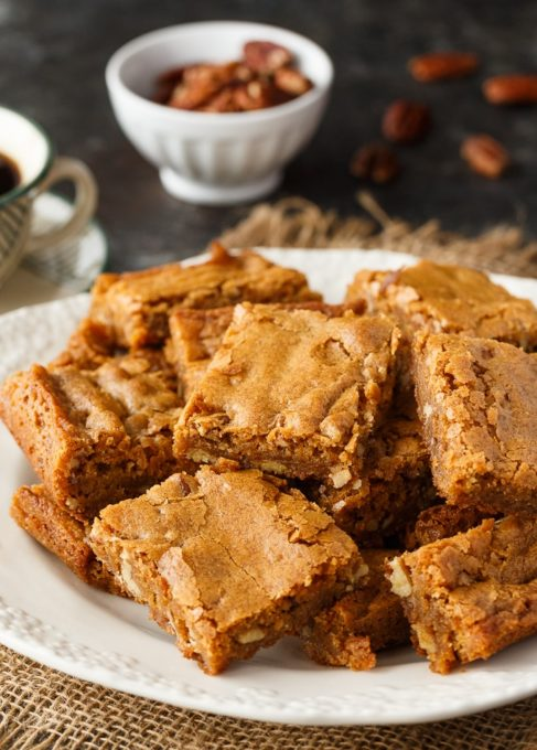 Butterscotch Brownies - Best of the Weekend Feature for March 16, 2018