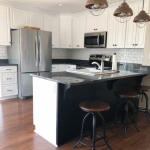Smith Mountain Lake House Update–Kitchen Backsplash