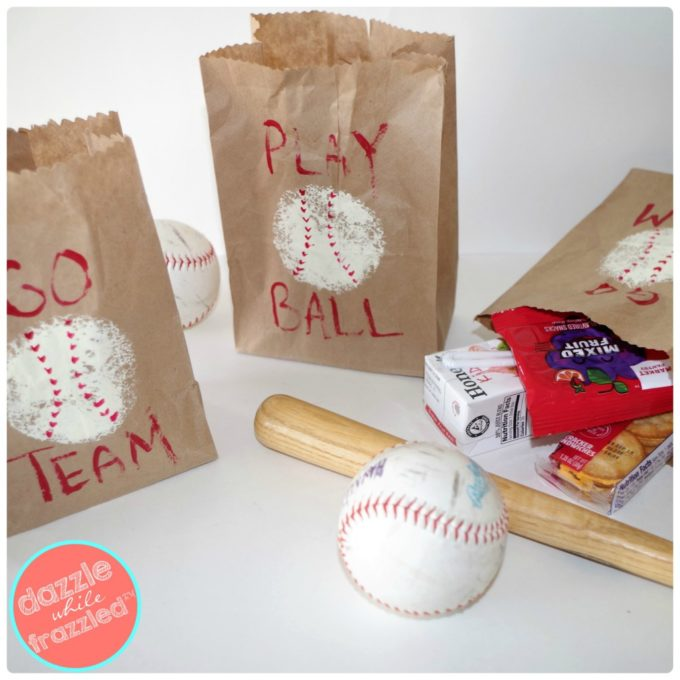 Baseball Goodie Bags for Kids - Best of the Weekend Feature for April 13, 2018