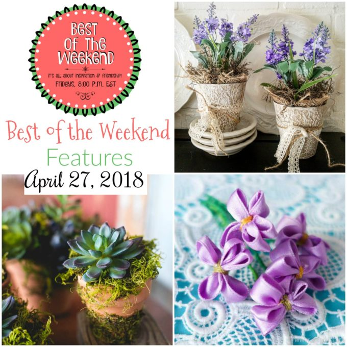 Best of the Weekend Features for April 27, 2018
