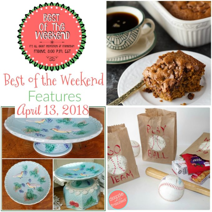 Best of the Weekend Party Features for April 13, 2018