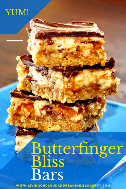 Butterfinger Bliss Bars - Best of the Weekend Party Feature for April 6, 2018