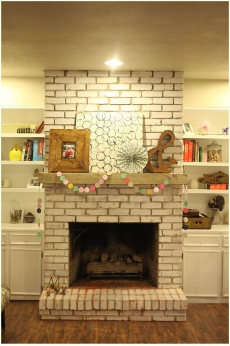 How to Install a Floating Fireplace Mantel - Best of the Weekend Feature for April 6, 2018