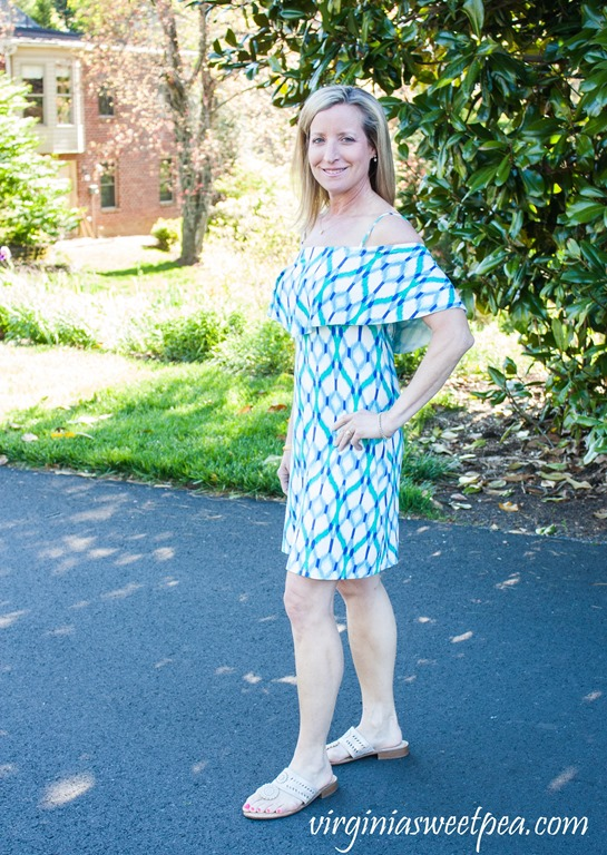 Stitch Fix Review May 2018 - Tart Collections Milana Cold Shoulder Knit Dress