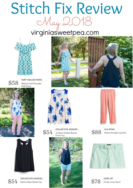 Stitch Fix Review for May 2018 - virginiasweetpea.com