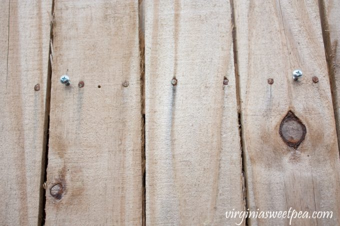 How to Use Keyholes to Hang a Message Board
