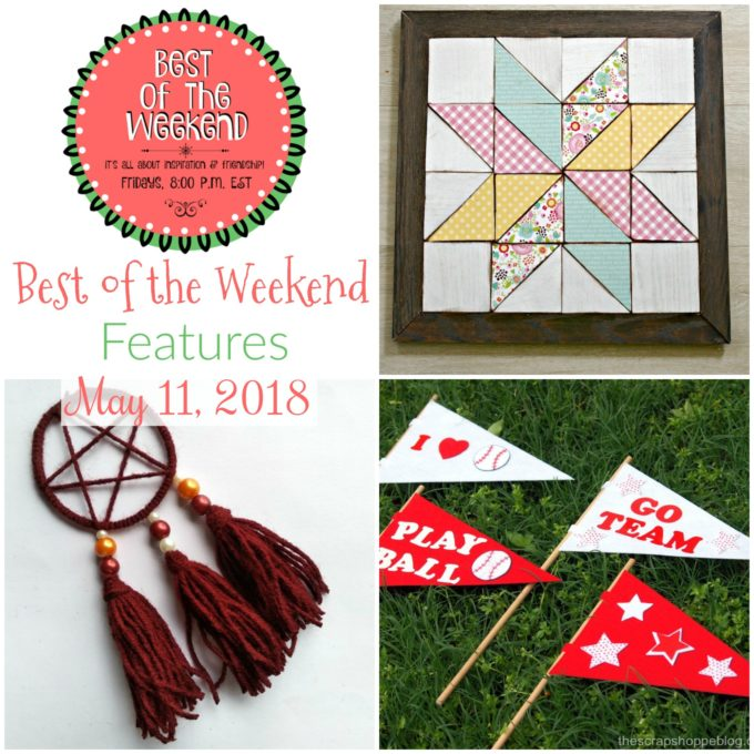 Best of the Weekend Features for May 11, 2018 - virginiasweetpea.com