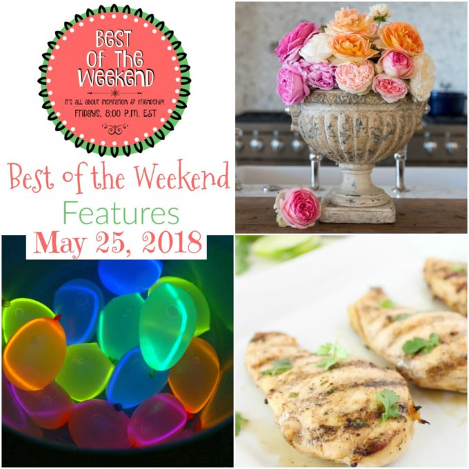 Best of the Weekend Features for May 25, 2018