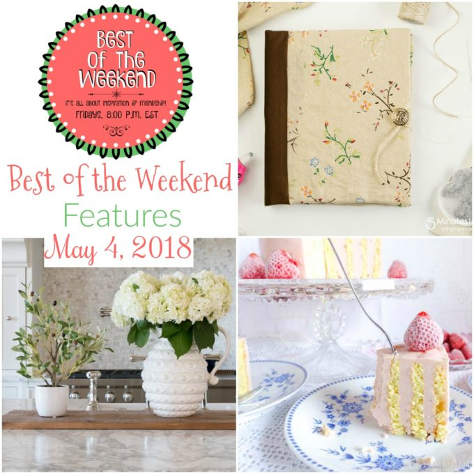 Best of the Weekend Features for May 4, 2018