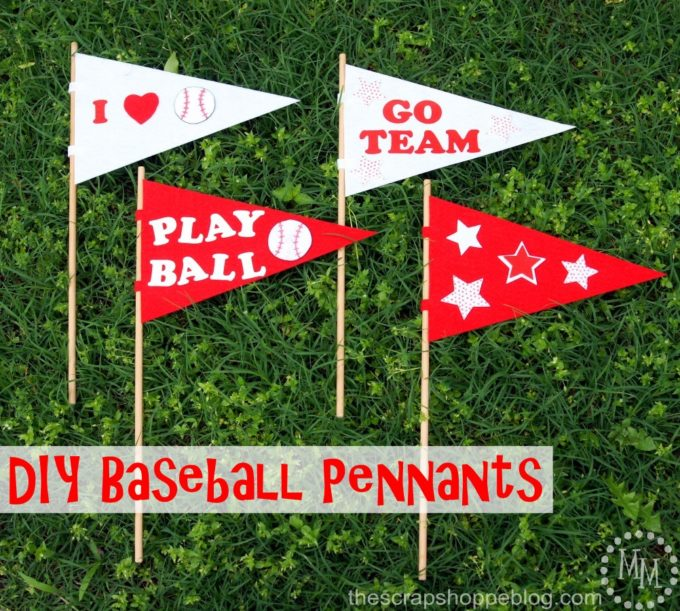 DIY Baseball Pennants - Best of the Weekend Feature for May 11, 2018