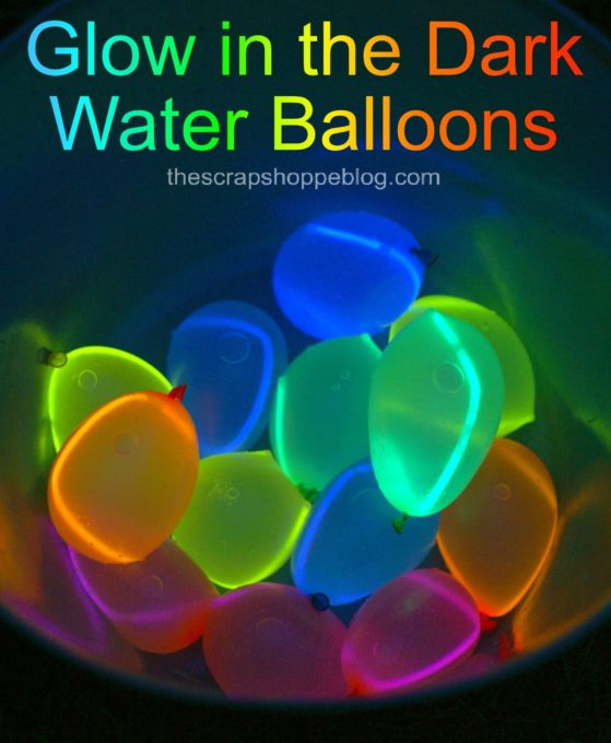 How to Make Glow in the Dark Water Balloons - Best of the Weekend Feature for May 25, 2018
