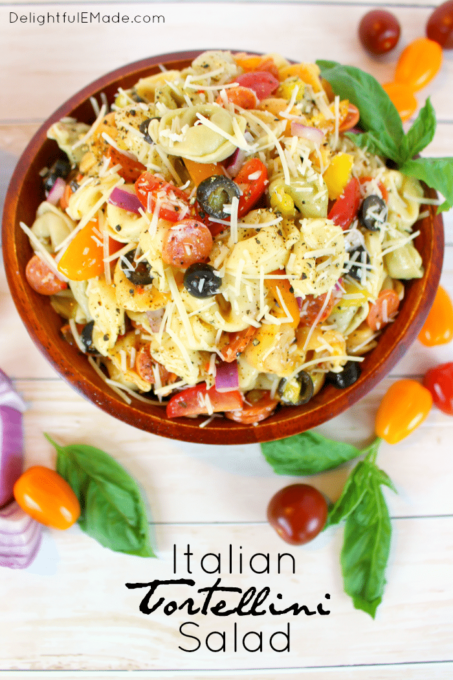 Italian Tortellini Salad - Best of the Weekend Feature for May 11, 2018