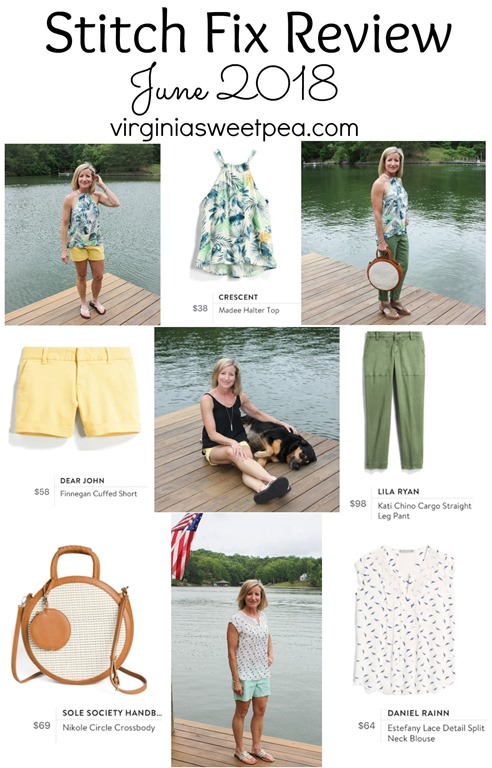 Stitch Fix Review for June 2018 - See five pieces perfect for summer! #stitchfix #stitchfixsummer #fashion #fashionover40