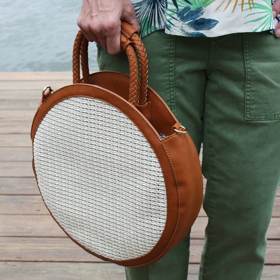 Stitch Fix Review for June 2018 - Sole Society Handbags - Nikole Circle Crossbody #stitchfix #stitchfixsummer #stitchfixstyle #summerfashion #fashionover40