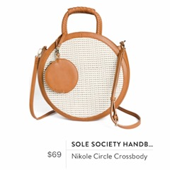 Sole Society Handbags - Nikole Circle Crossbody