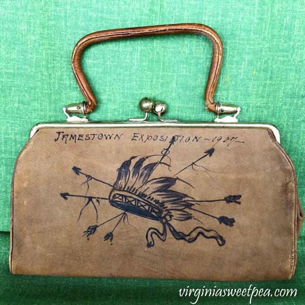 1907 Jamestown Exposition Souvenir Purse