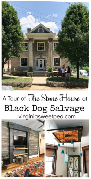 Stone House at Black Dog Salvage in Roanoke, VA