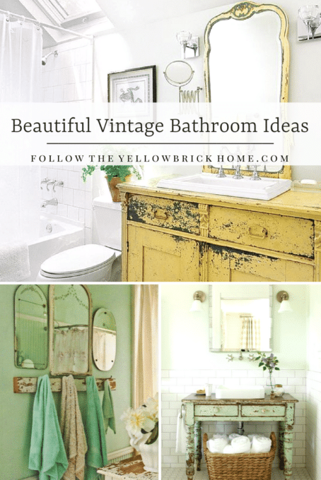Beautiful Vintage Bathroom Ideas - Best of the Weekend Features for June 29, 2018