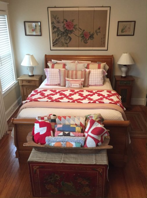 Bedroom Sanctuary filled with Antiques - Best of the Weekend Feature for June 22, 2018