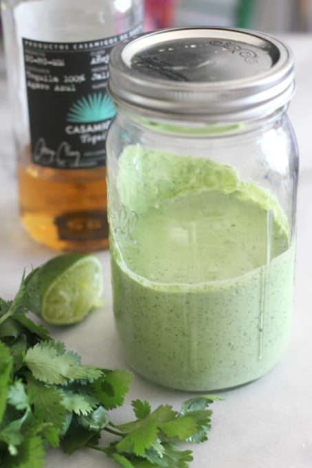 Creamy Tequila, Cilantro and Lime Salad Dressing - Best of the Weekend Feature for June 8, 2018
