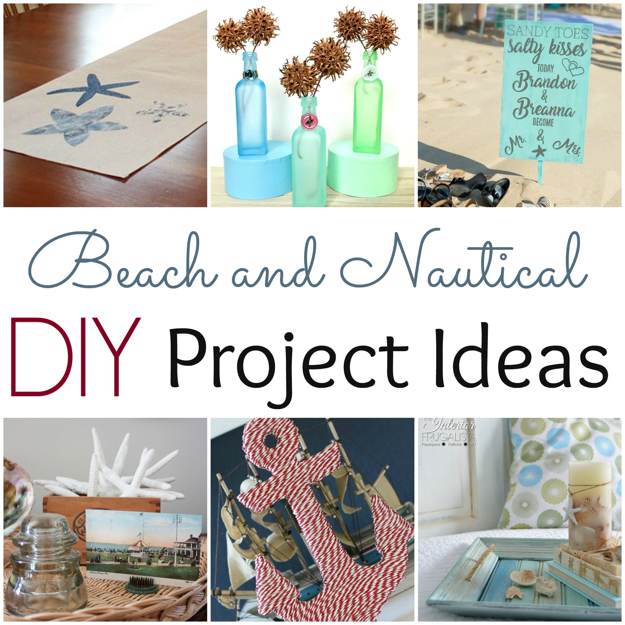 Beach and Nautical DIY Project Ideas