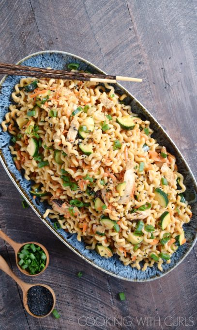 Sesame Noodles with Grilled Chicken - Best of the Weekend Feature for June 8, 2018