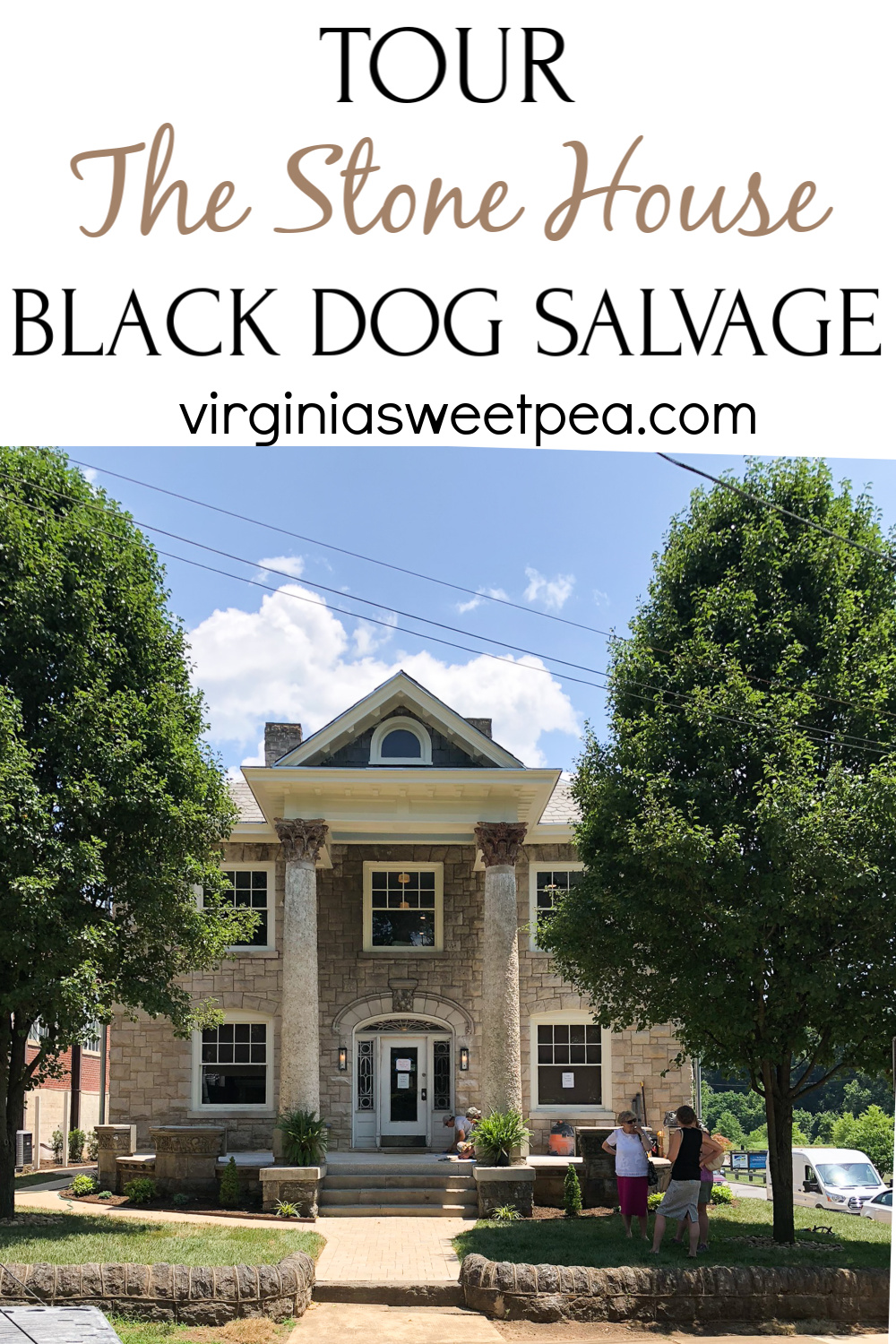 A Tour of The Stone House at Black Dog Salvage - Take a tour of this beautifully restored 1911 home in Roanoke, VA. #blackdogsalvage #hometour #historichome via @spaula