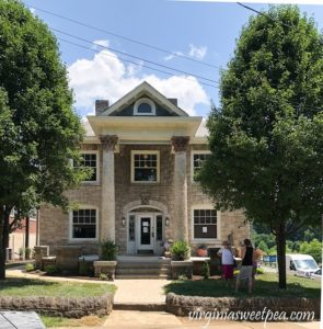 Take a tour of the Stone House at Black Dog Salvage in Roanoke, VA, now a vacation rental.