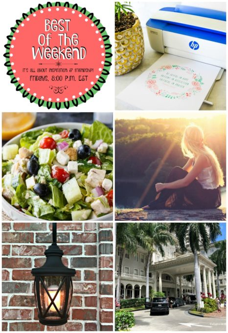 Best of the Weekend Features for July 27, 2018 - How to Print a Printable I Greek Chicken Salad I Tips for Reducing Anxiety Naturally I How to Create a Gaslight with an LED Lightbulb I Vacationing in Hawaii