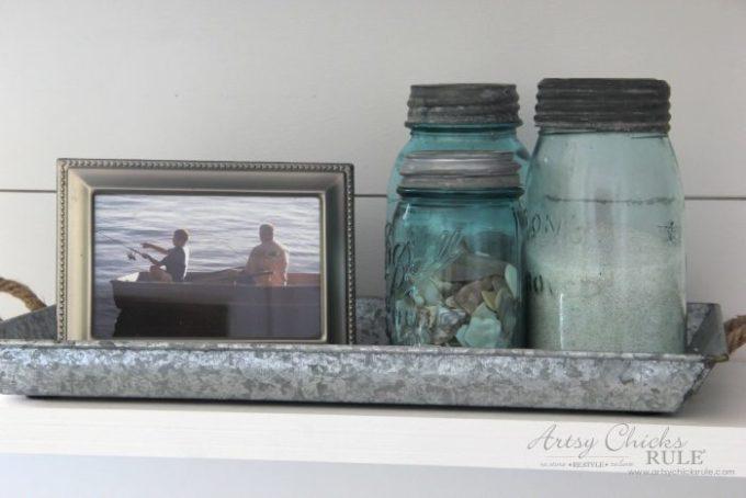 Coastal Farmhouse Laundry Room Makeover Reveal - Best of the Best Coastal DIY Decor Round-up. Get over a dozen coastal project decor ideas that you can make for your home. #coastal #coastaldecor #coastaldiy