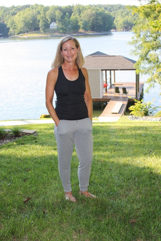 Stitch Fix Review for August 2018 - Free People Barkley Jogger Pant #stitchfix #stitchfixreview #stitchfixathleisure #athleisure #fashionover40