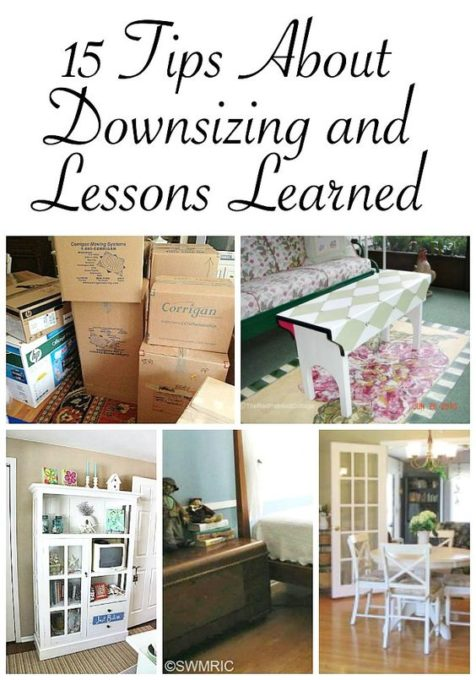 15 Tips About Downsizing and Lessons Learned - Best of the Weekend Feature for August 12, 2018
