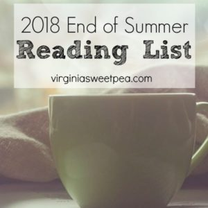 2018 End of Summer Reading List