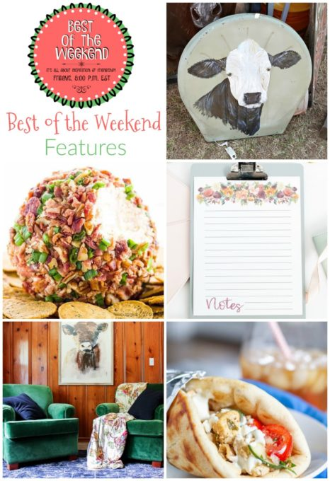 Best of the Weekend Features for August 10, 2018