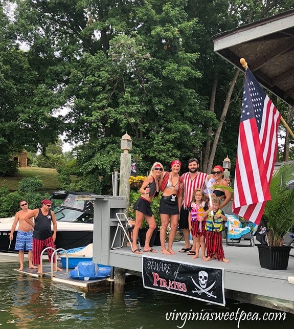 Pirate Days at Smith Mountain Lake - Anderson Pirate Family #smithmountainlake #sml #piratedays #smlpiratedays
