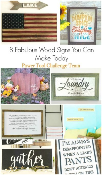 Fabulous Wood Signs You Can DIY - Get the tutorials to make these signs for your home. #diy #diysigns #diywoodsign