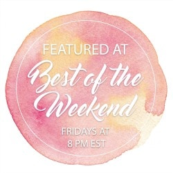 I was featured at Best of the Weekend!