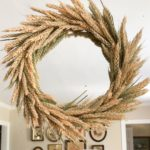 DIY Wheat Wreath for Fall