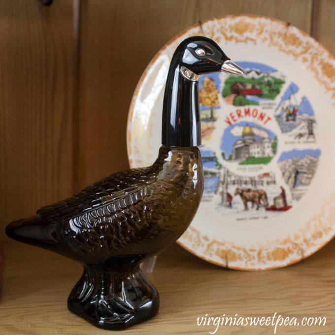 Vintage Lake House Thrift the Look - Vintage Goose Avon Cologne Bottle #vintage #vintagedecor #thriftthelook #Avon