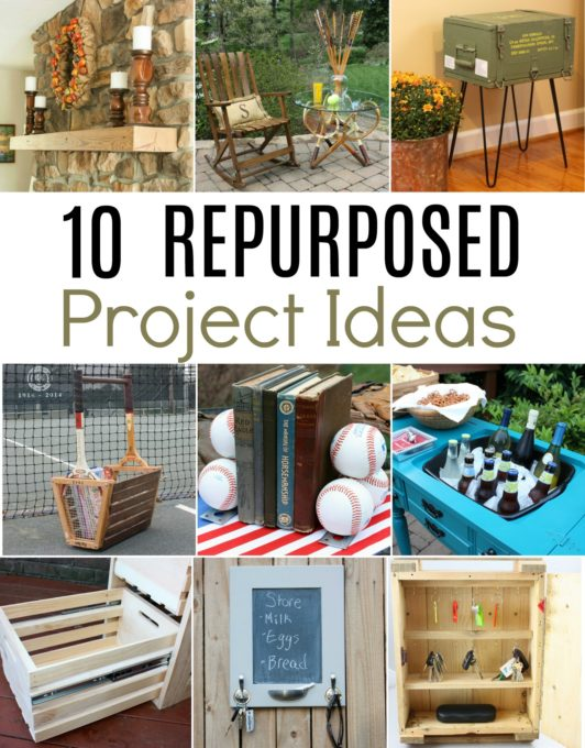 10 Repurposed Project Ideas - Discover ways to creatively repurpose items into useful home decor. #repurpose #DIY #repurposedprojects #upcycle #upcycledprojects