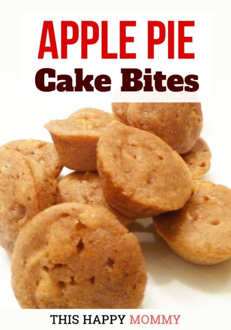 Apple Pie Cake Bites - Best of the Weekend Feature for October 26, 2018