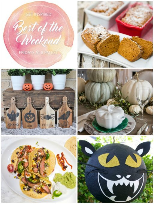Best of the Weekend Features for October 12, 2018