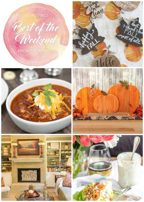 Best of the Weekend Features for October 5, 2018