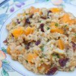 Butternut Squash Rice Pilaf
