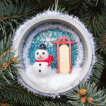 Handmade Winter Wonderland Christmas Ornament