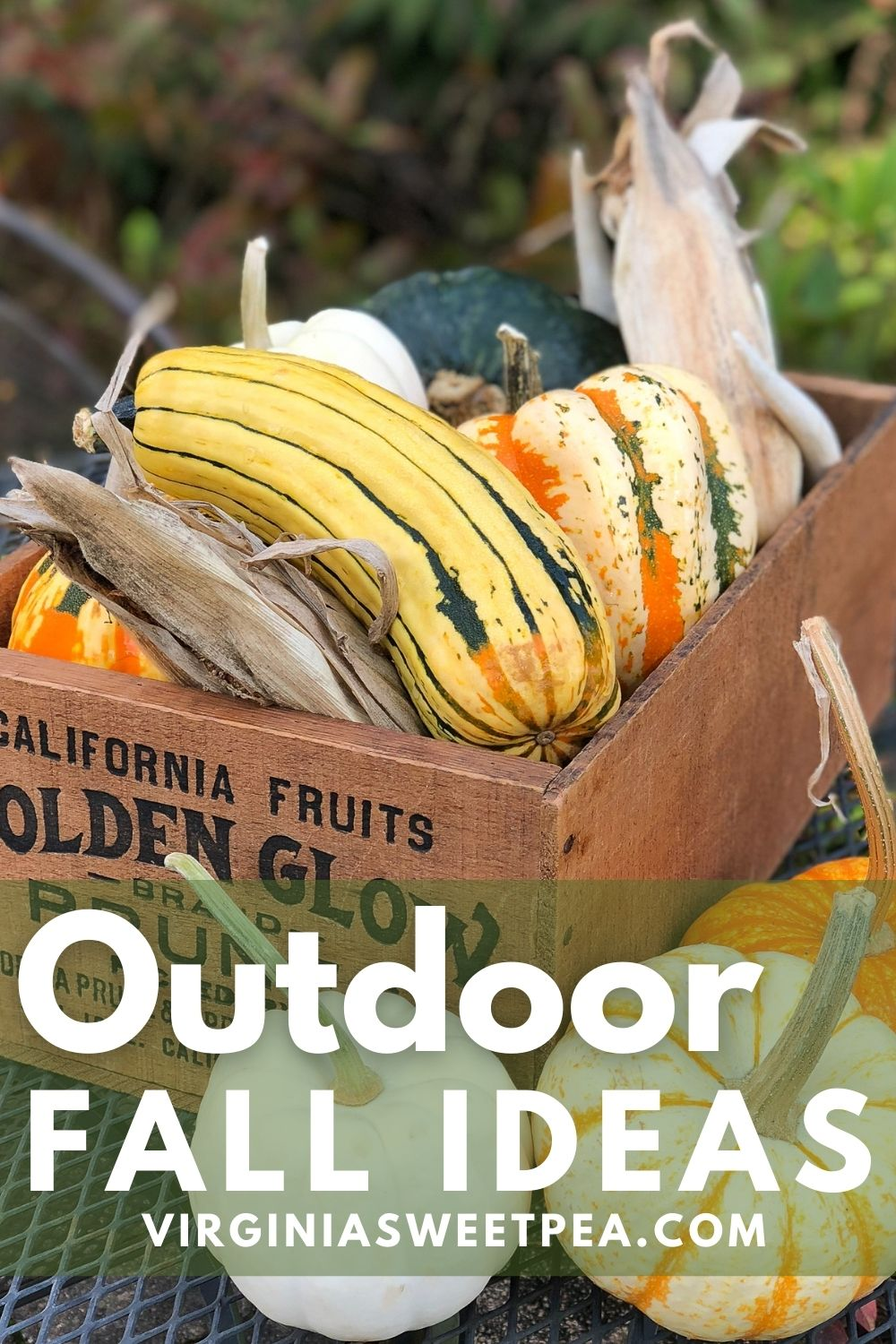Outdoor Fall Ideas - Get dozens of ideas for decorating outdoors for fall. via @spaula