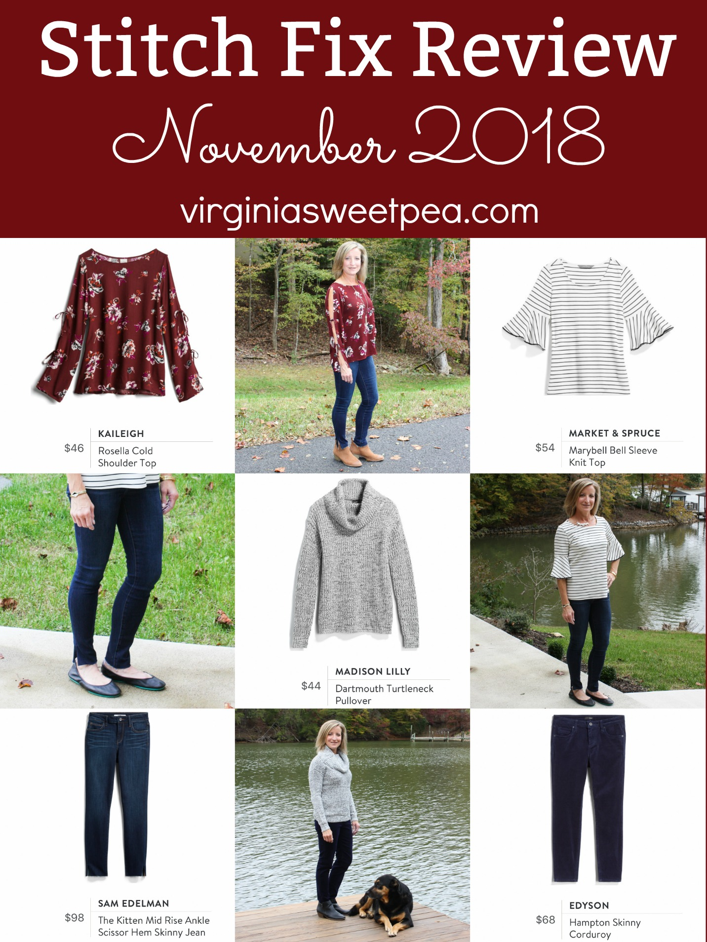 2c8fa7ddb4eb Stitch Fix Review for November 2018 - See styles perfect to wear in both  fall and