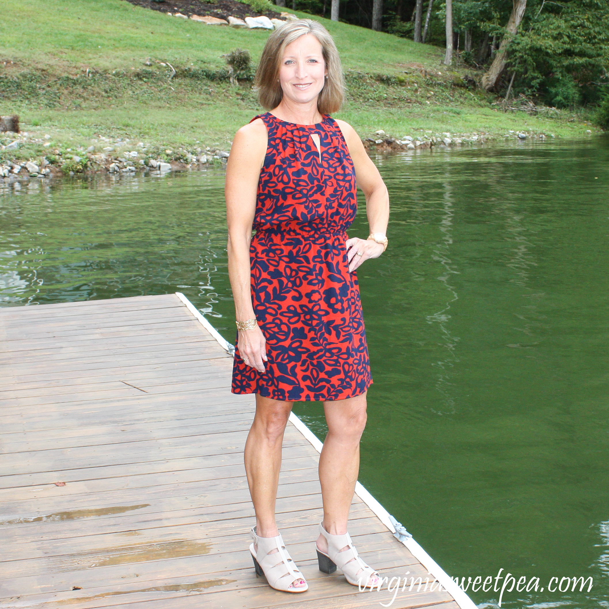 Stitch Fix Review for October 2018 - 41 Hawthorne Isabelle Dress-
