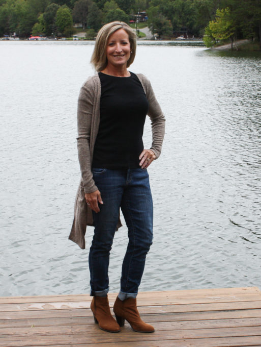 Stitch Fix Review for October 2018 - Absolutely Elli Ribbed Duster Cardigan #stitchfix #stitchfixreview #stitchfixfall