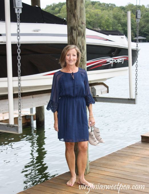 Stitch Fix Review for October 2018 - Skies Are Blue Marigold Embroidered Crochet Trim Dress #stitchfix #stitchfixreview #stitchfixfall #stitchfixdress